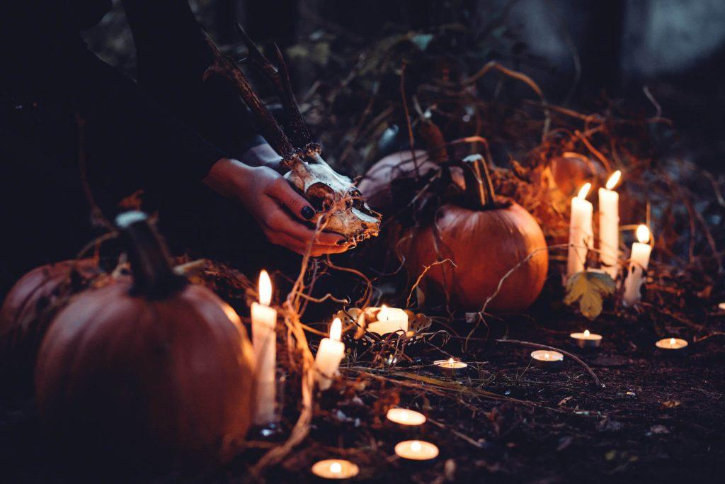 Candles Halloween Decoration