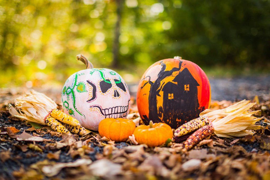 DIY Pumpkin Halloween Decoration