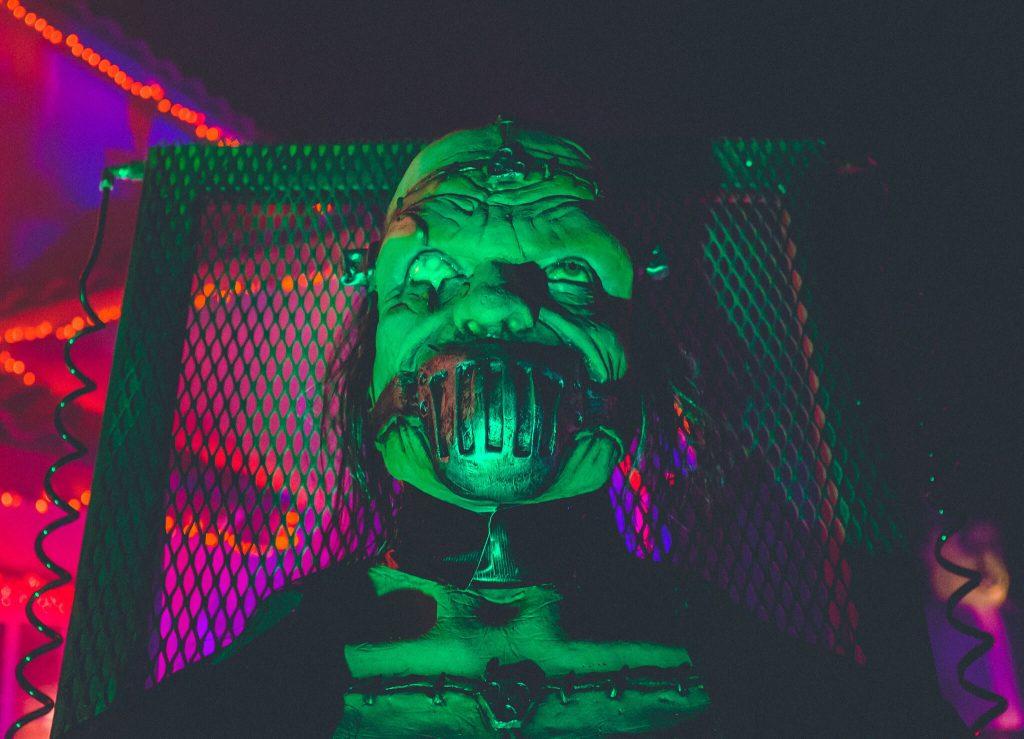 Evil Halloween Decoration