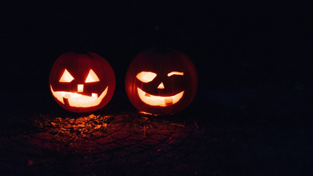 Jack-O-Lantern Halloween Decoration