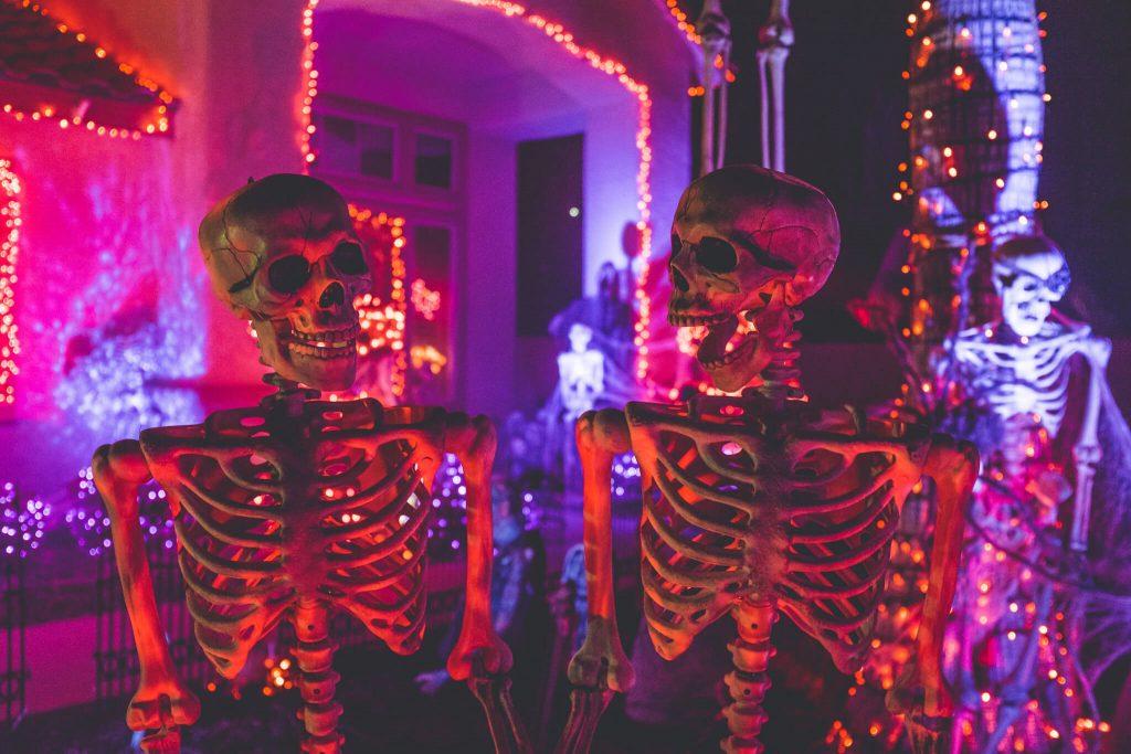 Skelleton Halloween Decoration