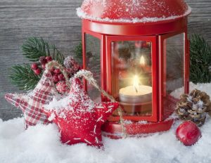 Candles Christmas decoration