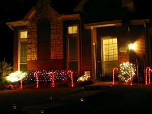 Christmas outdoor decoration